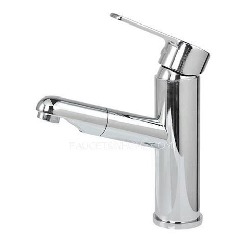 bathroom sink faucet with sprayer convenient pullout spray deck mounted bathroom sink faucet