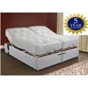 5ft adjustable electric bed pocket sprung mattresses and