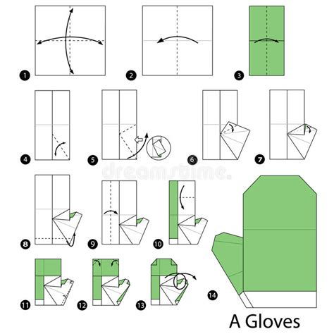 How To Make Origami Gloves - how to make origami gloves step by step how to make
