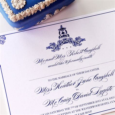 royal wedding invitations royal wedding invitation by e y i notonthehighstreet