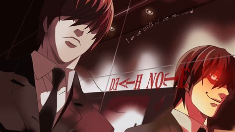 anime death note light yagami death note wallpaper 4623