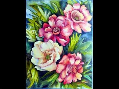 imagenes para pintar acrilico como pintar flores y hojas acrilicos herminia devoto