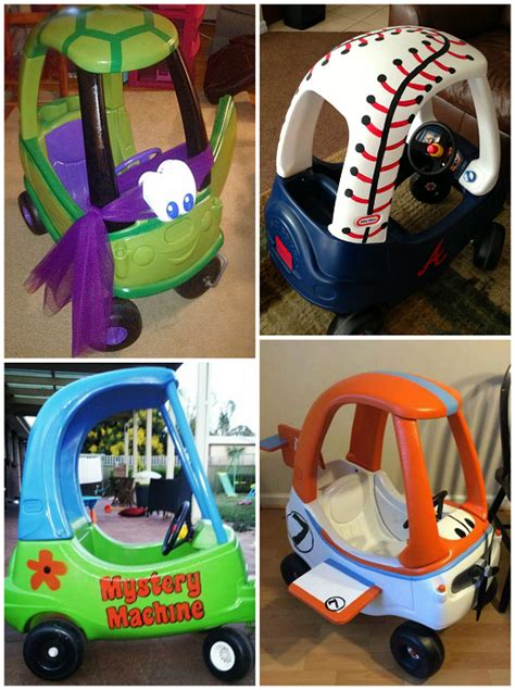 cer makeover ideas little tike cozy coupe makeovers crafty morning