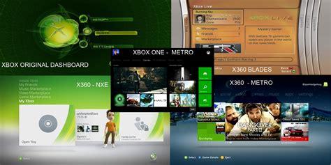 xbox 360 dashboard evolution of the xbox dashboard cheats co