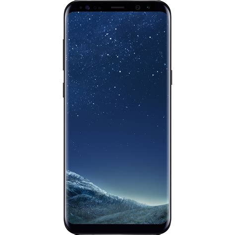 samsung cell phone samsung galaxy s8 sm g955u 64gb smartphone sm g955uzkaxaa b h