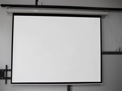 motorized electric auto projector projection screen