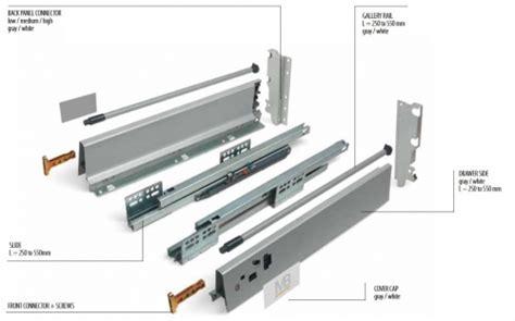 Soft Kitchen Drawer Mechanism by Soft Kitchen Drawer Runners System Modern Box