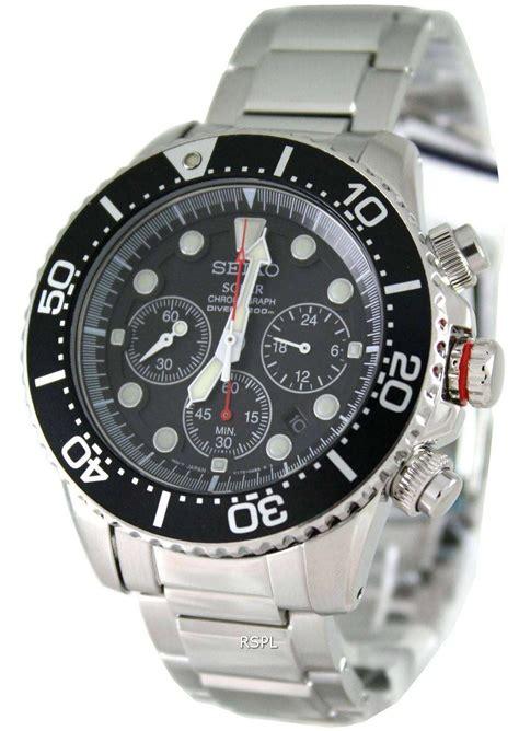 seiko solar chronograph divers sscp mens