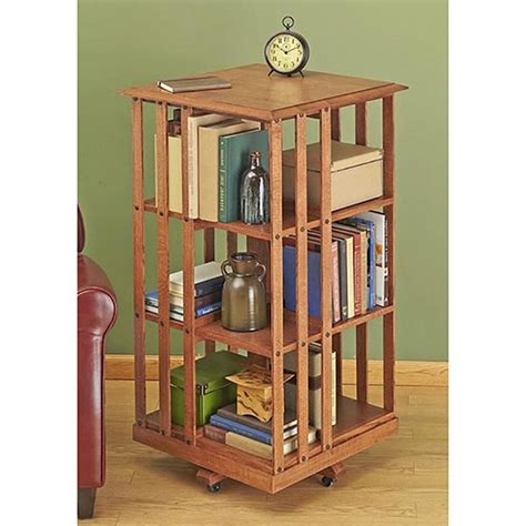 new shelves books 187 which pr efforts turn into book sales take two revolving danner inspired bookcase woodworking plan from wood magazine