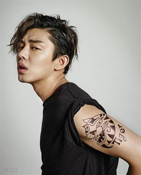 yoo ah in shows yoo ah in shows a variety of looks with vogue korea