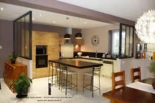 cuisine ouverte avec verri 232 re am esquisse photo n 176 51
