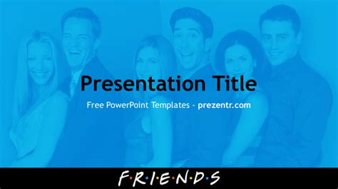 tv show powerpoint templates free friends powerpoint template for prezentr