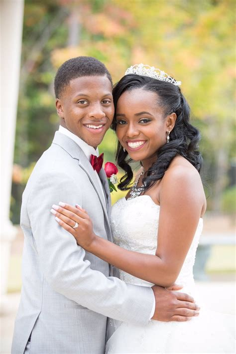 met at 7 married at 20 young african american couple