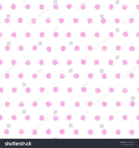 Paket Baby Pink polka dot seamless pattern painted pastel crayon vintage baby pink color design