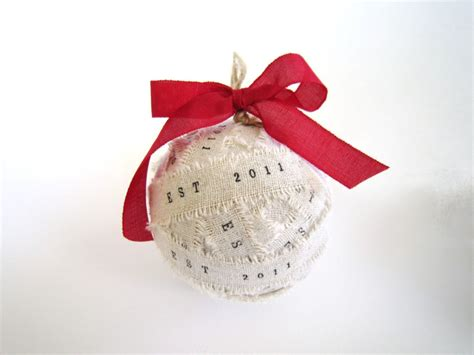 handmade personalized wedding ornaments personalize