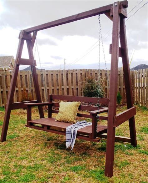 diy backyard swing 30 diy backyard projects to try this spring diy projects