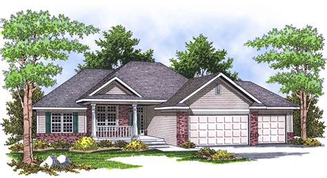 traditional ranch house plans traditional ranch home plan 89013ah architectural