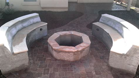fire pits designed by az living landscape call 480 390 4477