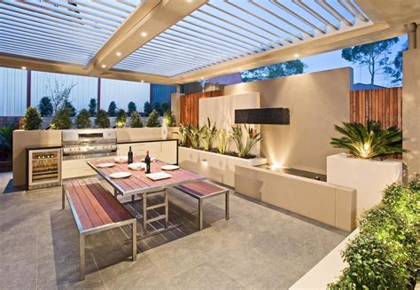 backyard entertainment outdoor entertaining area project by cos design