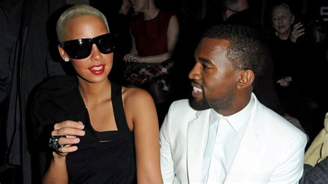 kanye west slams ex amber rose pretty much confirms amber rose doesn t sugarcoat the hard times after her