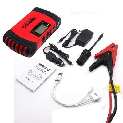 Big Power Led 12 Kit Include Charger Batery F970 heavy duty jump starter top 4 compact heavy duty battery boosters 2018