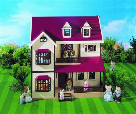 sylvanian family dolls house sylvanian families oakwood manor house doll houses sylvanian families pinterest