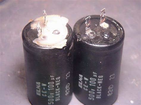 blown capacitor image i a magnavox 37mf232d 37 how do i replace the capacitor