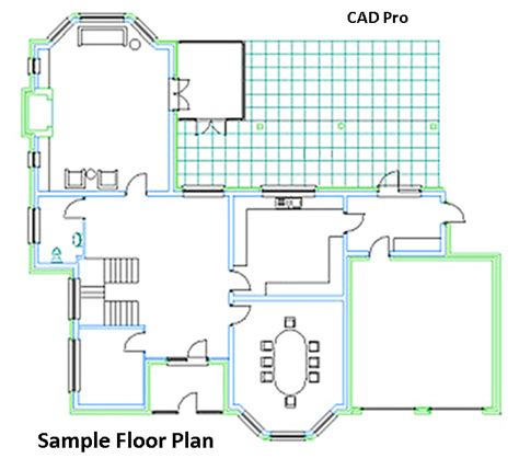 floor plans pro floor plan diagrams using cad pro