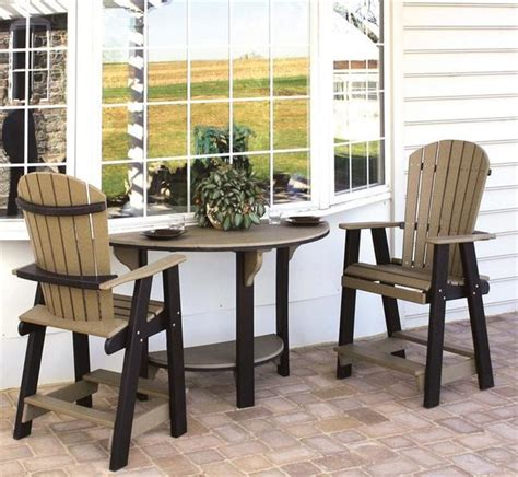 amish pub table and chairs pub table and chair sets home design ideas