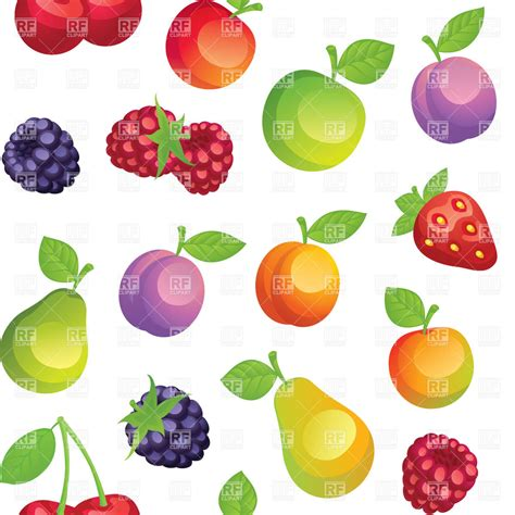 wallpaper cartoon fruit seamless background with cartoon fruits royalty free