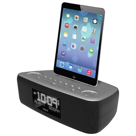 i home ihome dual alarm clock radio idl44gc speaker docks