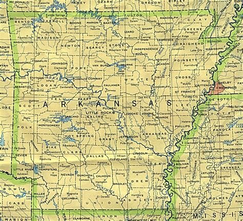 map arkansas arkansas maps perry casta 241 eda map collection ut