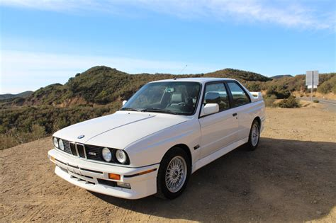 bmw e30 a low mileage bmw e30 m3 just sold for 100 000
