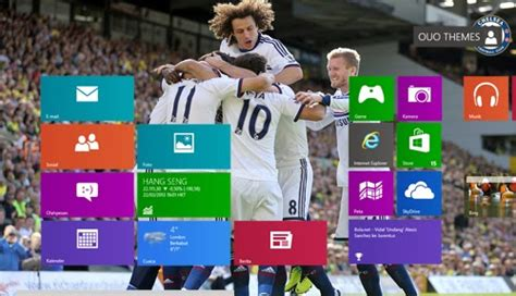 theme line chelsea 2013 2014 chelsea fc theme for windows 7 and 8 8 1 ouo