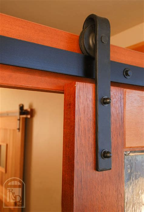 Hammered Flat Track Sliding Barn Door Hardware Barn Door Flat Track