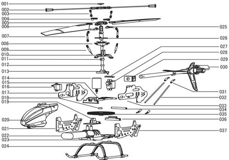 Part Pigeon Manual Corongbody っmjx t series rc helicopter model model spare parts accessories accessories t10 005