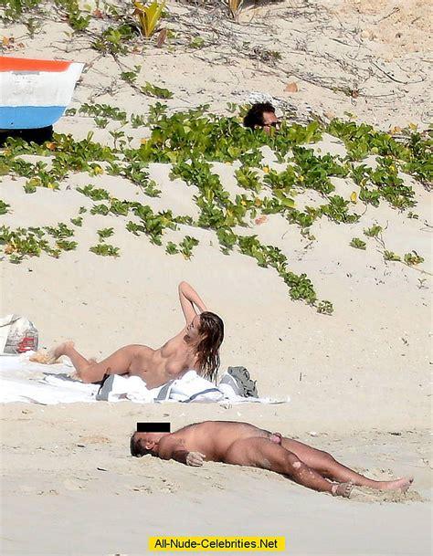 Edita Vilkeviciute Caught Fully Nude On The Beach