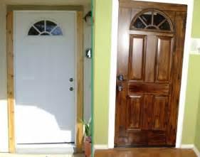 How To Paint Metal Front Door 25 Diy Door Ideas Diy