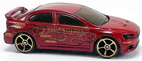 Hotwheels Lancer Evolution 2008 2008 mitsubishi lancer evolution 74mm 2008 wheels newsletter