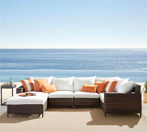 Outdoor Sectional Sofa Sale Pottery Barn Outdoor Furniture Sale 30 Sectionals Sofas Chaise Lounge Chairs And More