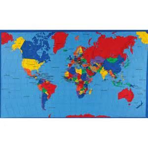 Fabric World Map by Multi Panel Map World Multi Discount Designer Fabric