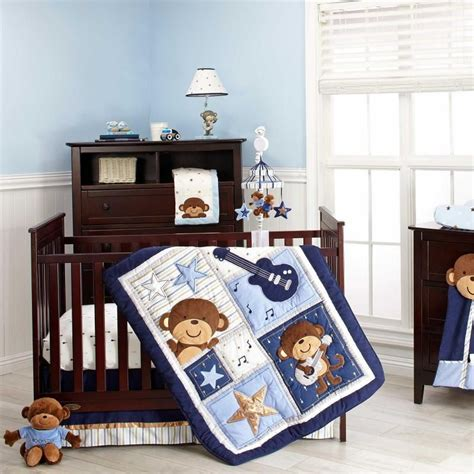 Monkey Themed Nursery Decor Monkey Themed Baby Bedding Ba Nursery Decor Popular Themes Ba Boy Nursery Ideas Monkeys Home