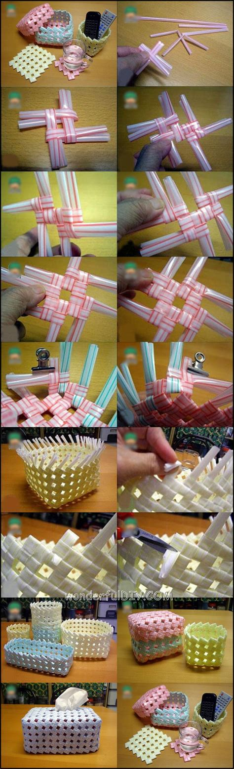diy tutorials ideas   drinking straw crafts