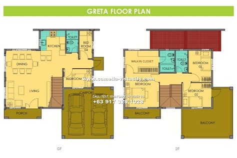camella vista city greta house and lot for sale in vista