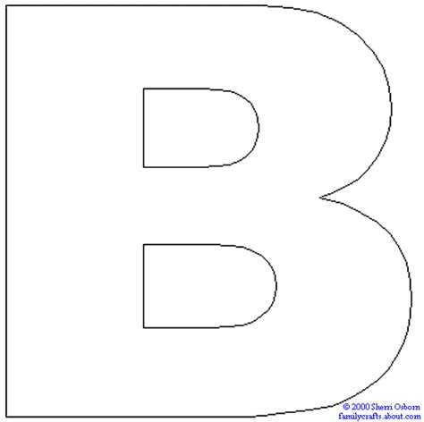 coloring page the letter b letter b coloring pages preschool and kindergarten
