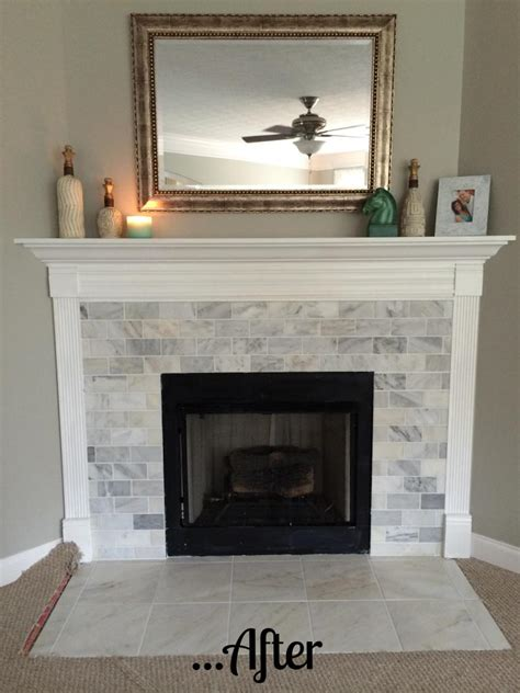 hey diy fireplace remodel