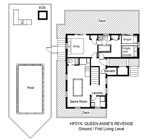 queen anne floor plans queen anne s revenge hatteras rental midget realty