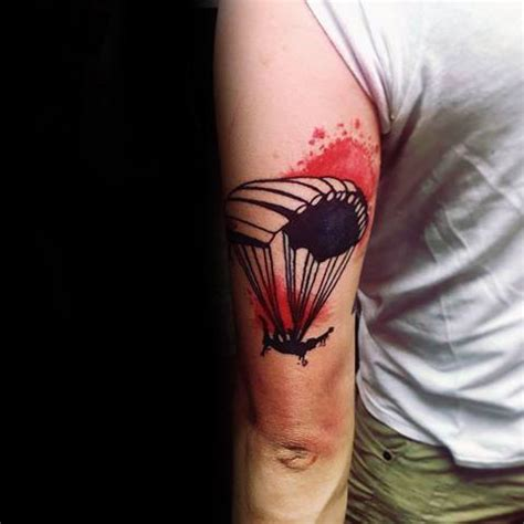 parachute tattoo great parachute golfian