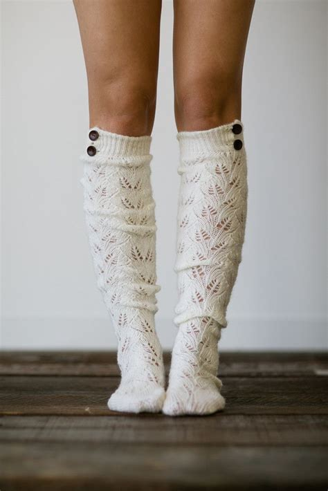 knitted boot socks knitted button boot socks