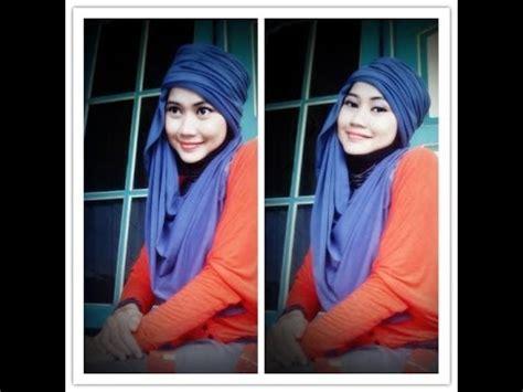 tutorial hijab pashmina simpel 27 indahalzami youtube tutorial hijab pashmina simple satu menit by didowardah